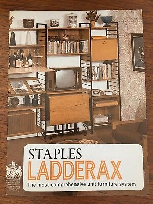 Staples Ladderax Original Brochure And Product Details