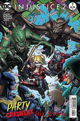 Injustice 2 #7 (2017) 1St Printing Dc Bagged  Boarded