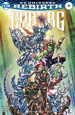 Cyborg #15 (2017) 1St Printing Variant Cover Dc Universe Rebirth