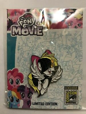 2017 SDCC EXCLUSIVE My Little PonyThe Movie Pin SIA LTD 1000 MLP