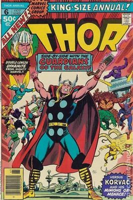 Thor (1962-1996 1st Series) Annual #6 VG/FN 5.0 LOW GRADE
