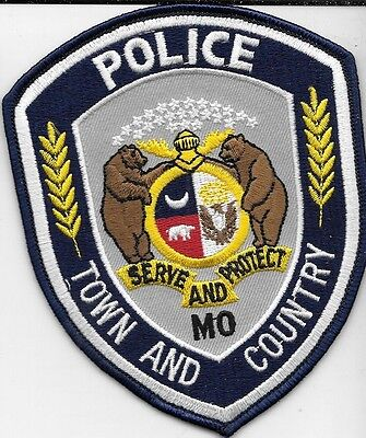 Town And Country Missouri Mo Police Dept Tpd Cpd Pd Bears Eagle Local State