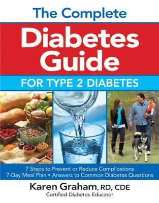 Complete Diabetes Guide for Type 2 Diabetes by Graham, Karen | Paperback Book |