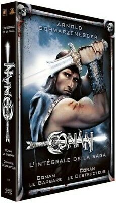 DVD - Conan le barbare + Conan le destructeur - coffret 2 DVD