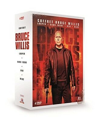 DVD - Coffret Bruce Willis : Looper + Sans issue + RED + RED 2