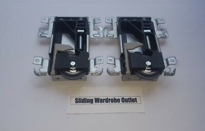 Spacepro/Stanley 17-4264Y-000 sliding wardrobe door part Wheels/Runner/Guides X2