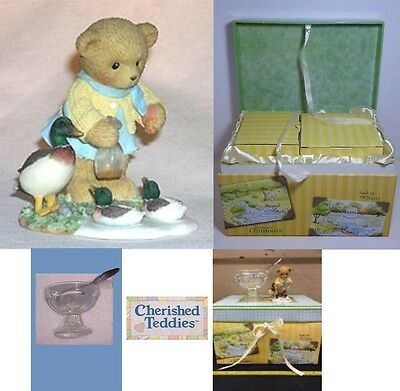 CHERISHED TEDDIES 2007 CHARTER SYMBOL of MEMBERSHIP, CARDYN, CT0113, NEW in BOX
