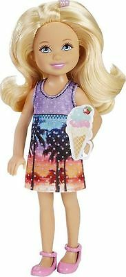 New Barbie Ice Cream Chelsea Doll Great Puppy Adventure Sisters Mattel Cherry