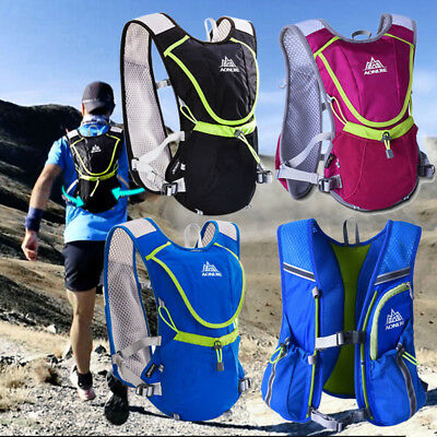 Aonijie Outdoor Water Hydration Bag Backpack &Bottle Holder&1.5l Water pouch
