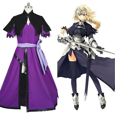 Fate/Apocrypha FA Ruler Joan of Arc/Jeanne Cosplay Costume Dress Outfit Suit
