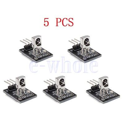 5PCS KY-022 37.9KHz Infrared IR Sensor Receiver Module For Arduino AVR PIC TW