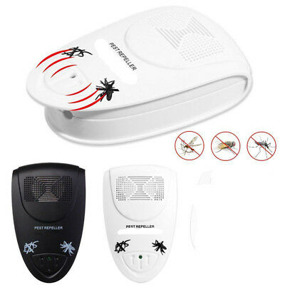 Ultrasonic Mouse Mice Spider Insect Ultra Sonic Pest Repeller US/EU Plug Helpful
