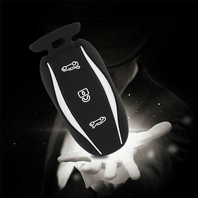Silicone Car Key FOB Cover Case Holder Skin Remote For Tesla Model S X P85D P70
