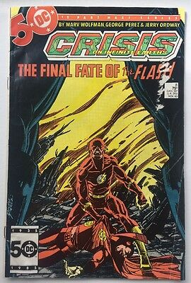 Crisis On Infinite Earths #8 Comic DC Death Of Barry Allen (The Flash) Key Issue
