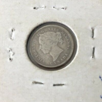1830  Canada Silver 10 Cents Coin Free Shipping