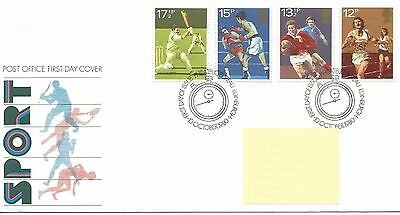 GB - FIRST DAY COVER - FDC - COMMEMS -1980- SPORT - Pmk PB