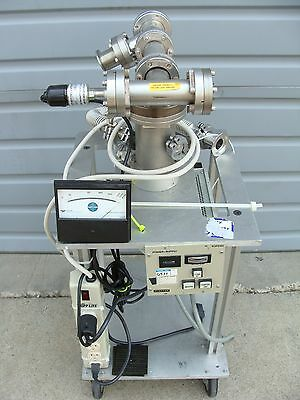 Balzers / Pfeiffer Residual Gas Analyzer RGA TPU050 Turbo Pump & Controller!