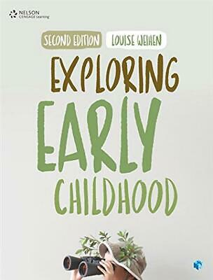 Exploring Early Childhood by Louise Weihen Paperback Book Free Shipping!