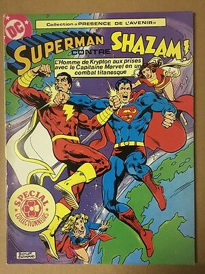 Superman contre Shazam - Sagedition - 1980 - NEUF