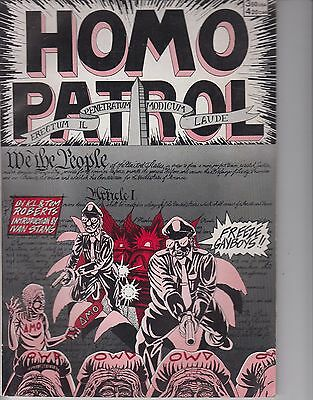 Homo Patrol 1 graphic novel - 1989 - Roberts Bros - Very Fine +