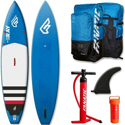 Fanatic Ray Touring SUP Air inflatable sup Stand up Paddle Board 2016 blue