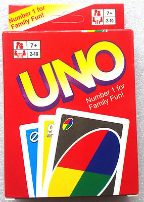 UNO CARDS Family Fun Playing Card Game Kit Toy Board Game