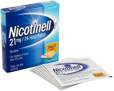 Nicotinell Nicotine 21 Mg 24-Hour Patch, 7 Days Supply