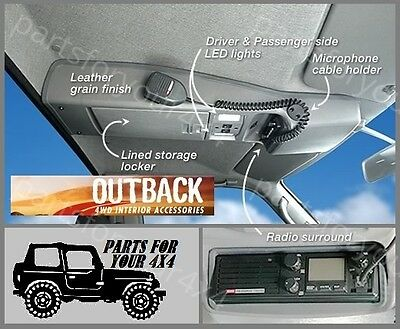 Outback Roof Console Rcgucc Nissan Patrol Gu Single Cab/cab Chasis 2/99 On