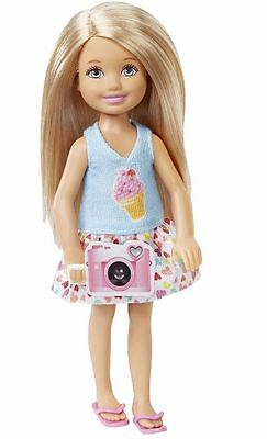 New Barbie Camera Chelsea Doll Great Puppy Adventure Sisters Mattel Chase Dmd95