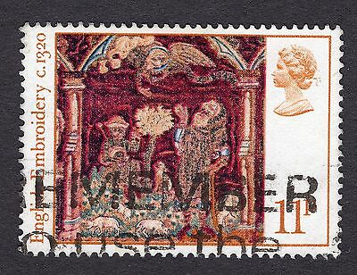 1976 11p Christmas Angel appearing to shepherds SG1020 FINE USED R31231