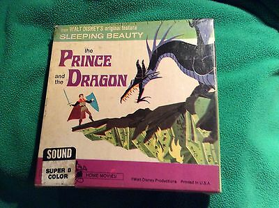 The Prince and the Dragon vintage 8 mm film