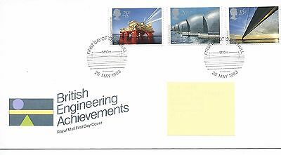 GB - FIRST DAY COVER - FDC - COMMEMS -1983- BRITISH ENGINEERING - Pmk HULL