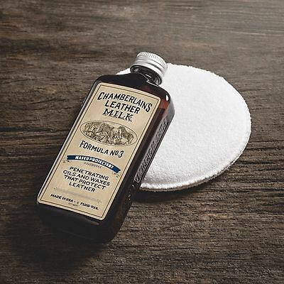 Chamberlain's Leather Care Water Protectant No 3 Premium Leather Protector 177ml