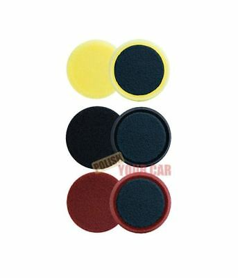 "Meguiars 3 x Spot Foam Pads 4"" 100mm Cutting Polishing Finish Kit G220 DAS6"