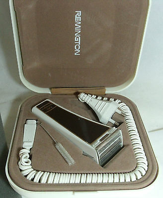 Vintage Retro Lady Remington Electric Shaver Working Prop Display