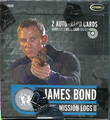 James Bond Mission Logs Factory Sealed Hobby Box 24 Packs