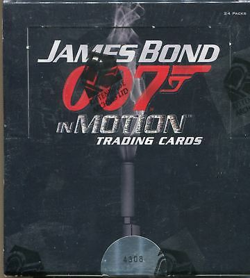 James Bond In Motion Factory Sealed Hobby Box 24 Packs