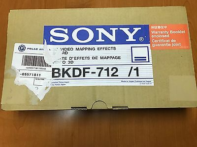 Sony Bkdf-712 - 3D Video Mapping Effects Board For Dfs-700
