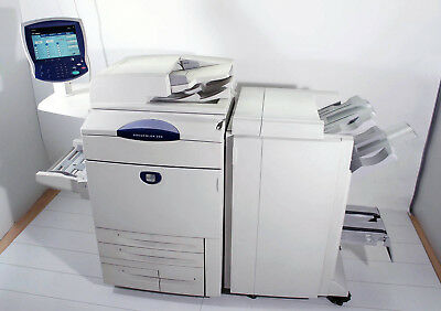 XEROX Docucolor 250 Farbdrucker Scanner Kopierer inkl. Advanced Office Finisher