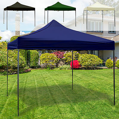 Heavy Duty Gazebo Garden Patio Easy Pop Up Party Tent Marquee Outdoor 3M x 3M