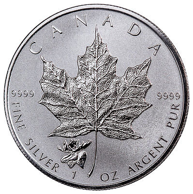 2017 Canada 1 oz Silver Maple Leaf - Moose Privy Reverse Proof $5 Coin SKU48568