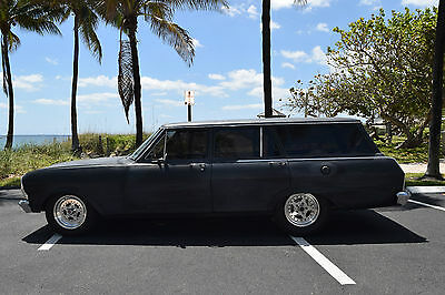 1965 Chevrolet Nova CHEVY II WAGON 1965 CHEVY II NOVA WAGON TURBO 383 STREET CAR