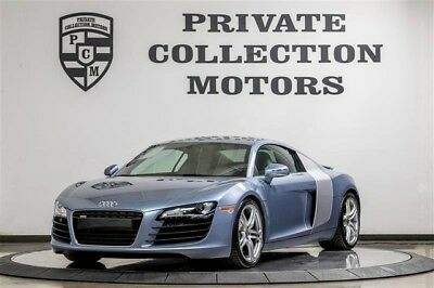 2009 Audi R8 Base Coupe 2-Door 2009 Audi R8 Pristine 9k Original Miles 2 Owner Clean Carfax