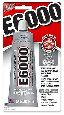 E-6000 Industrial Strenght Glue Adhesive - Permanent Bond - Crafts - 2.0 Oz