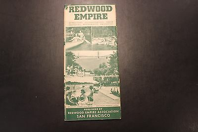 Vintage Redwood Empire brochure