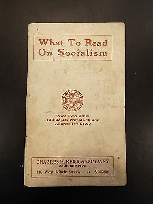 """What to Read on Socialism"" Vintage Booklet"