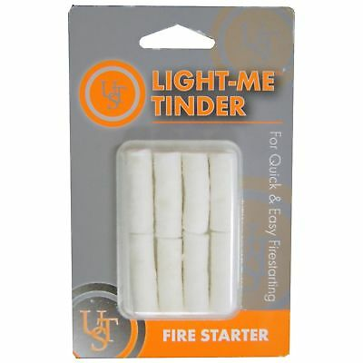 Ultimate Survival Technologies Light-Me Tinder 8-Pack Quick & Easy Fire Starters