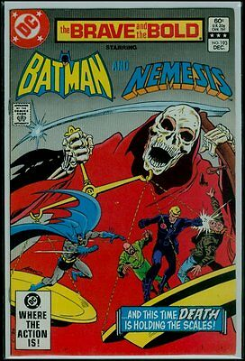 DC Comics The BRAVE And The BOLD #193 BATMAN And NEMESIS VFN 8.0