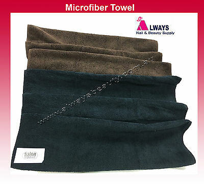 Microfiber Towel Gym Sport Travel Swimming Drying Black / Chocolate Microfibre