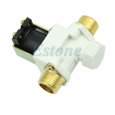 12V N/C Brand New Electric Solenoid Valve for Water Air High Quality